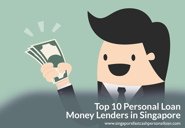 Top 10 Personal Loan Money Lenders in Singapore