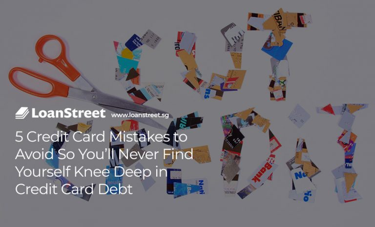 5 Credit Card Mistakes to Avoid So You'll Never Find Yourself Knee Deep in Credit Card Debt