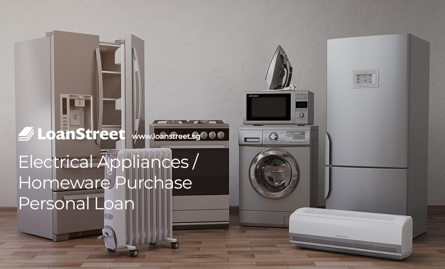 Electrical Appliances / Homeware Purchase Personal Loan