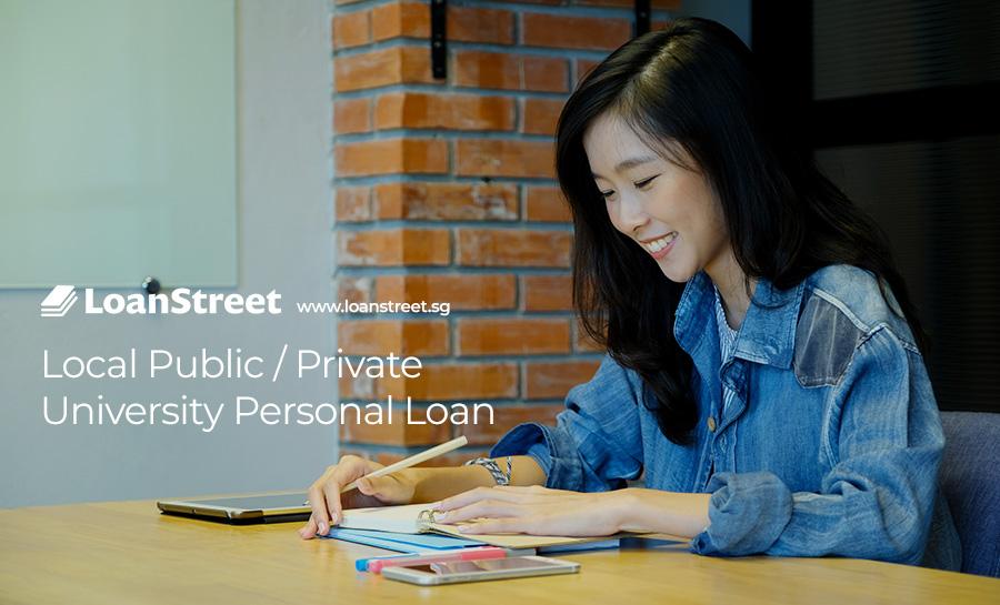 Local Public / Private University Personal Loan