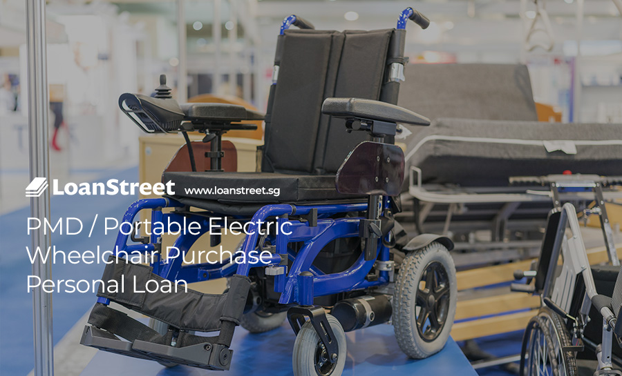 PMD / Portable Electric Wheelchair Purchase Personal Loan