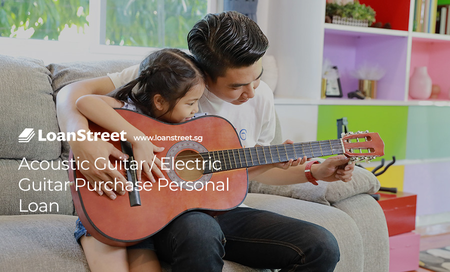 Acoustic Guitar / Electric Guitar Purchase Personal Loan