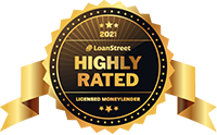 Loan Street Highly Rated Licensed Money Lenders Award